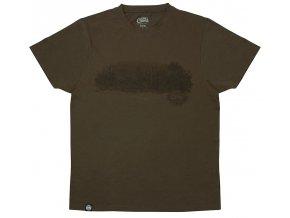 Fox Chunk Dark Khaki Scenic T-shirt
