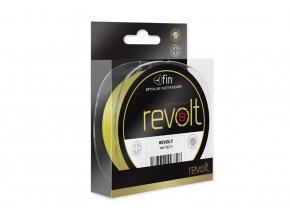 FIN Revolt 8X / 122m / fluo žlutá