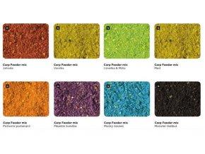 vzorky carp feeder mix