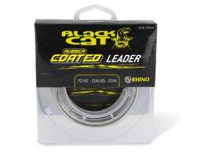 black cat rubber coated leader 20m 1