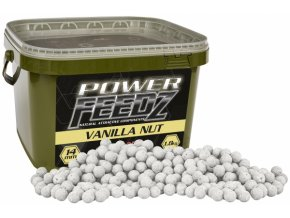 Boilies Power FEEDZ Vanilla Nut 24mm 1,8kg  + 10% sleva platná ihned po registraci pro všechny