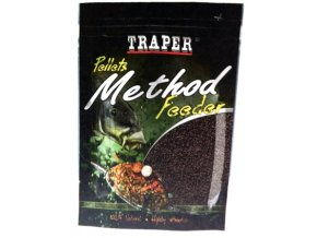 TRAPER METHOD FEEDER PELETY HALIBUT ČERNÝ 4 mm / 500 g