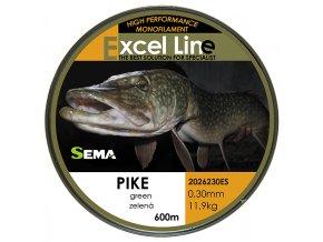 Pike zelená 0,30  + 10% sleva platná ihned po registraci pro všechny