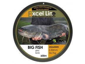 Big Fish šedá 0,70  + 10% sleva platná ihned po registraci pro všechny