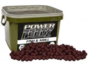 Boilies Power FEEDZ Fish&Krill 24mm 1,8kg