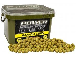 Boilies Power FEEDZ Banana Corn 24mm 1,8kg
