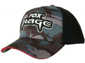 fox ksiltovka rage camo trucker cap 122171115 z1