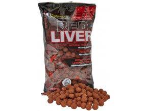 Red Liver - Boilie potápivé 1kg 14mm