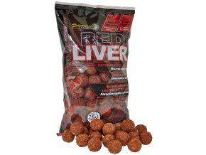 Red Liver - Boilie potápivé 1kg 24mm