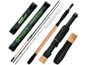 Green Arrow Feeder 3,6m Medium 50-90g  + 10% sleva na tento produkt za registraci  + DOPRAVA zdarma