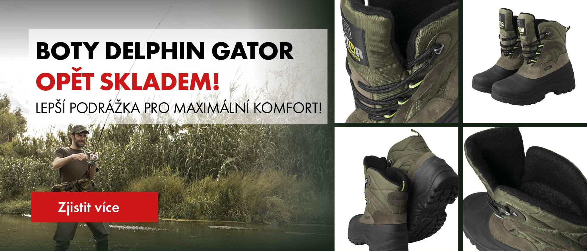 Boty Delphin Gator opět skladem!