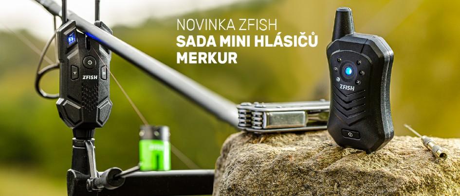 Nové hlásiče Zfish Merkur
