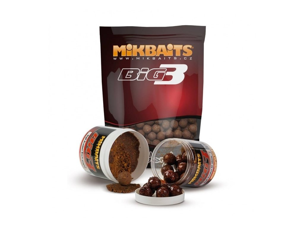 MIKBAITS LEGENDS BIGB BROSKEV & BLACK PEPPER 10kg/20mm