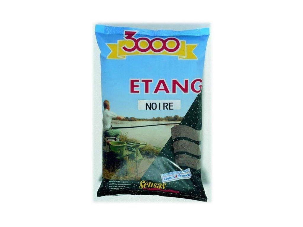 KRMÍTKOVÁ SMĚS SENSAS 3000 ETANG NOIRE (černé) 1kg