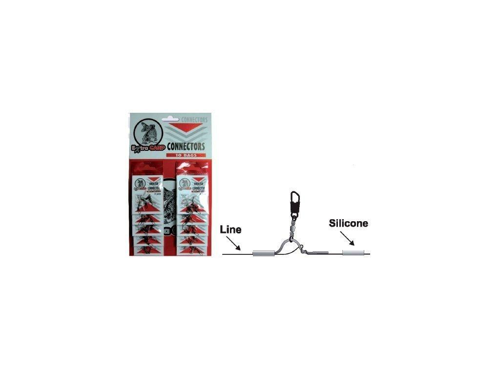 Konektor na anglický splávek - 4ks