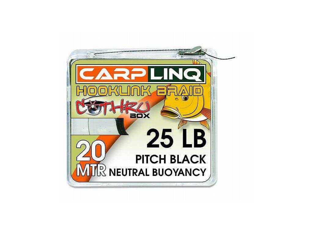 CARP LINQ Neutral Buoyancy hooklink 20m - Olive green