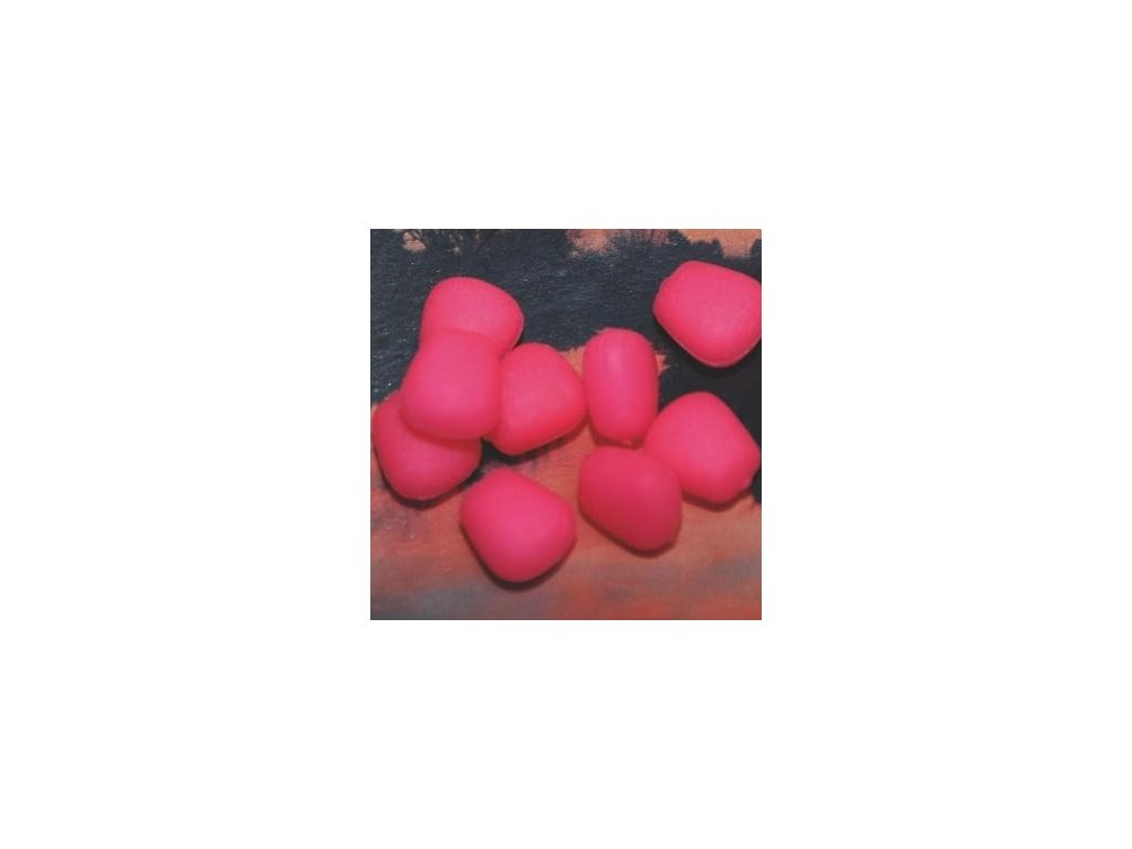 Mikbaits Imitace kukuřice FLUORO neochucená - plovoucí Fluo růžová