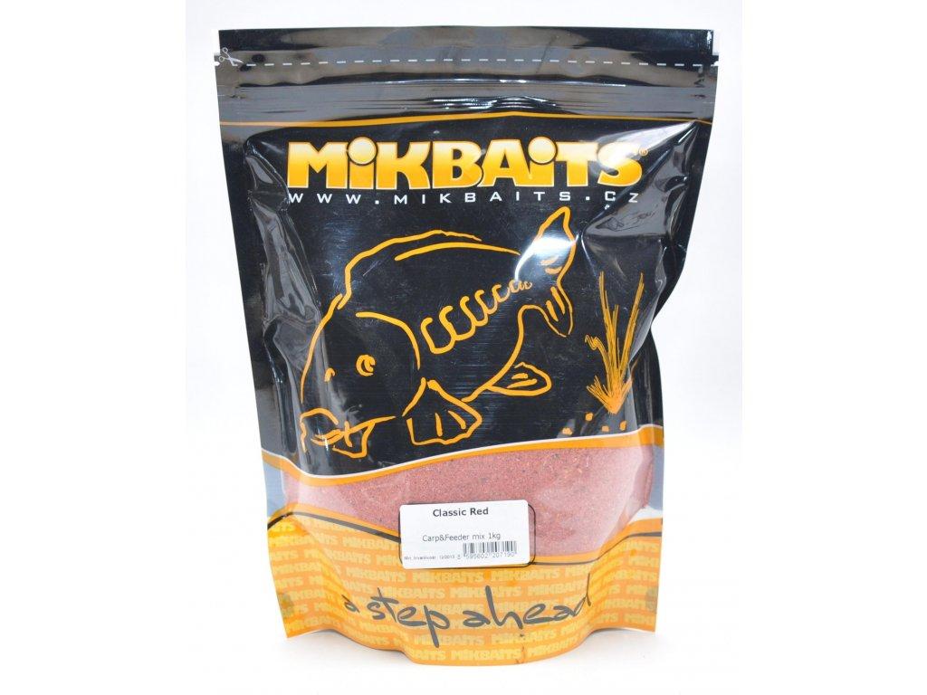 Mikbaits Feeder mix F3 červený 1kg