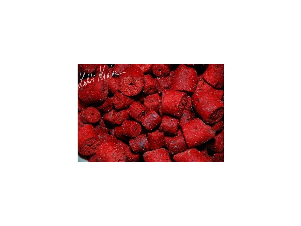 LK BAITS RESTART PELLET WILD STRAWBERRY 12-17MM, 5KG + BOOSTER 100ML