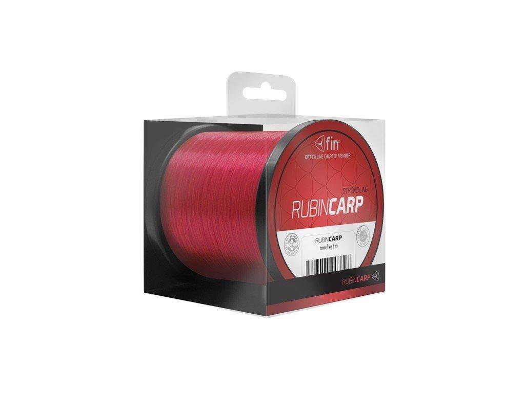 FIN vlasec Rubin CARP červená