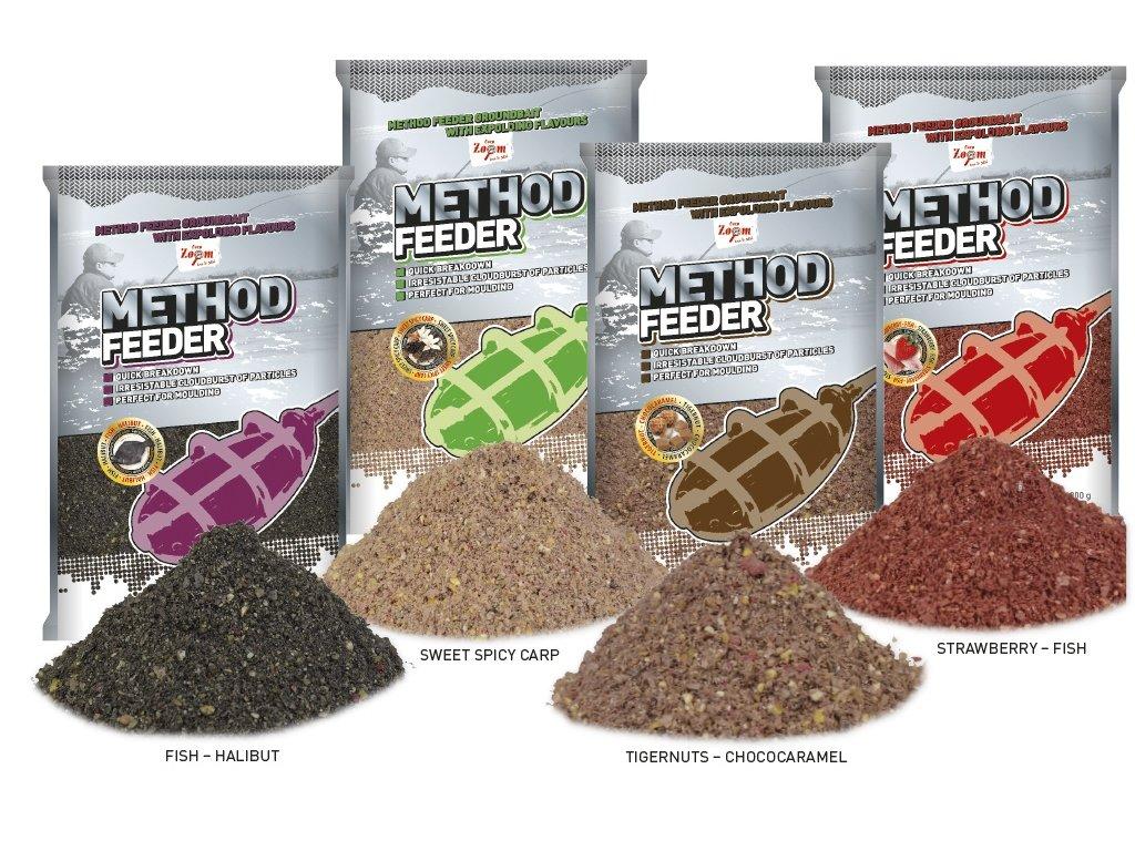 Krmítková směs Method Feeder Groundbaits - 1 kg