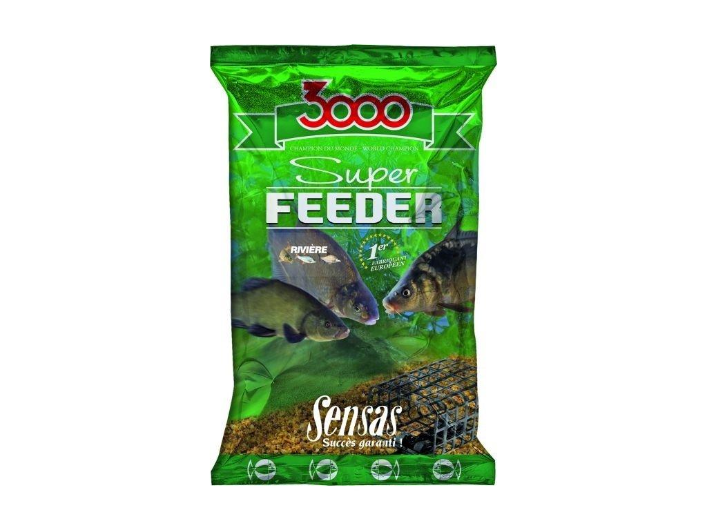 KRMÍTKOVÁ SMĚS SENSAS 3000 SUPER FEEDER LAKE (JEZERO)1kg