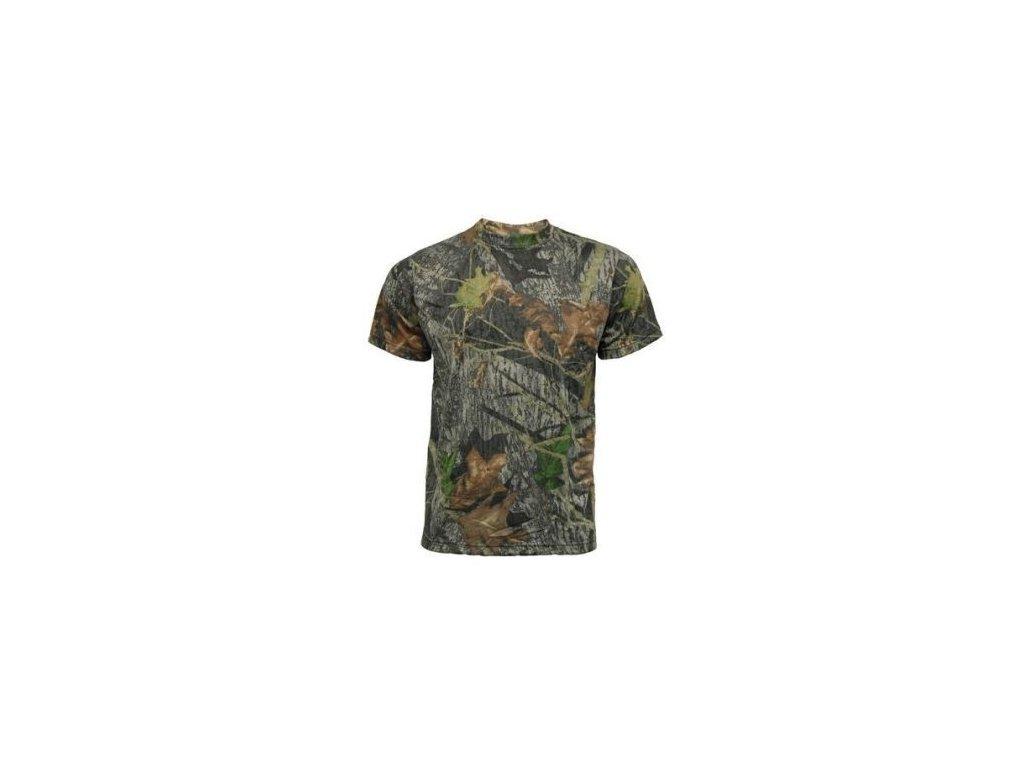 Tričko s kratkým rukávem 3D Camo