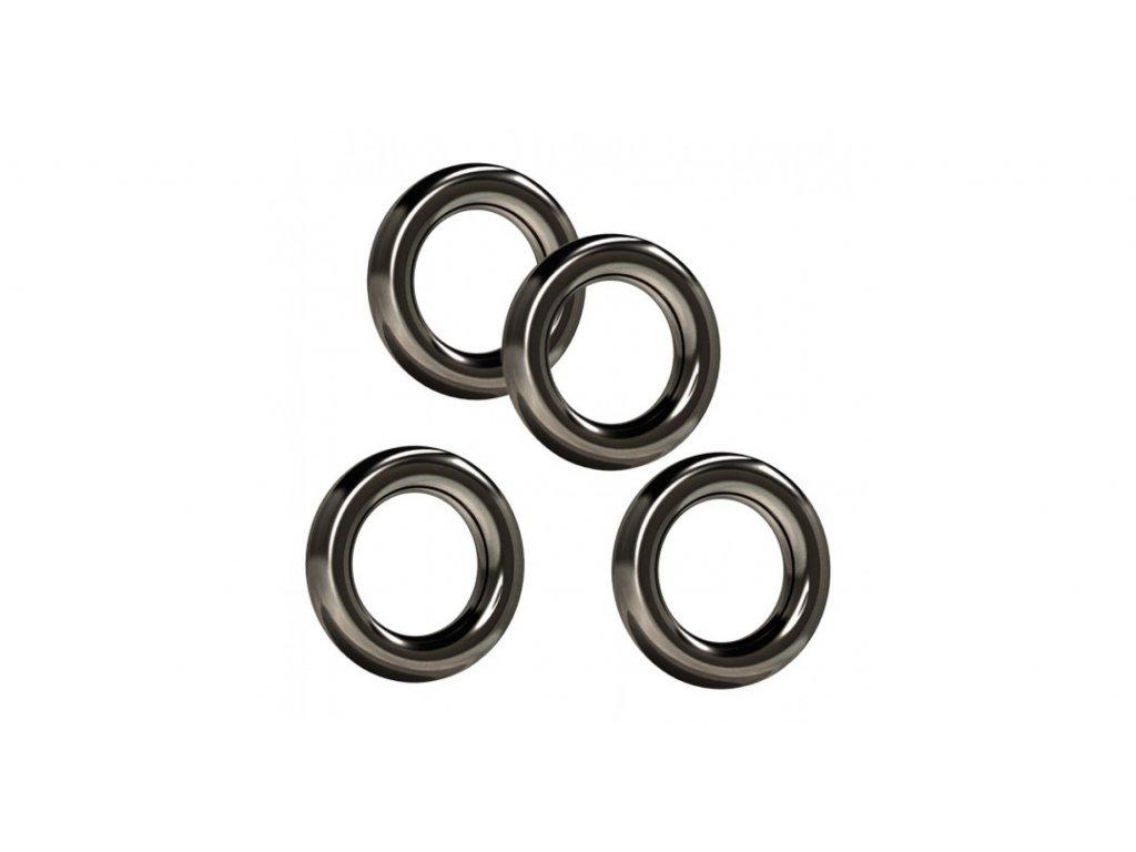 Suretti Round Rig Rings 3,7mm - 10 ks