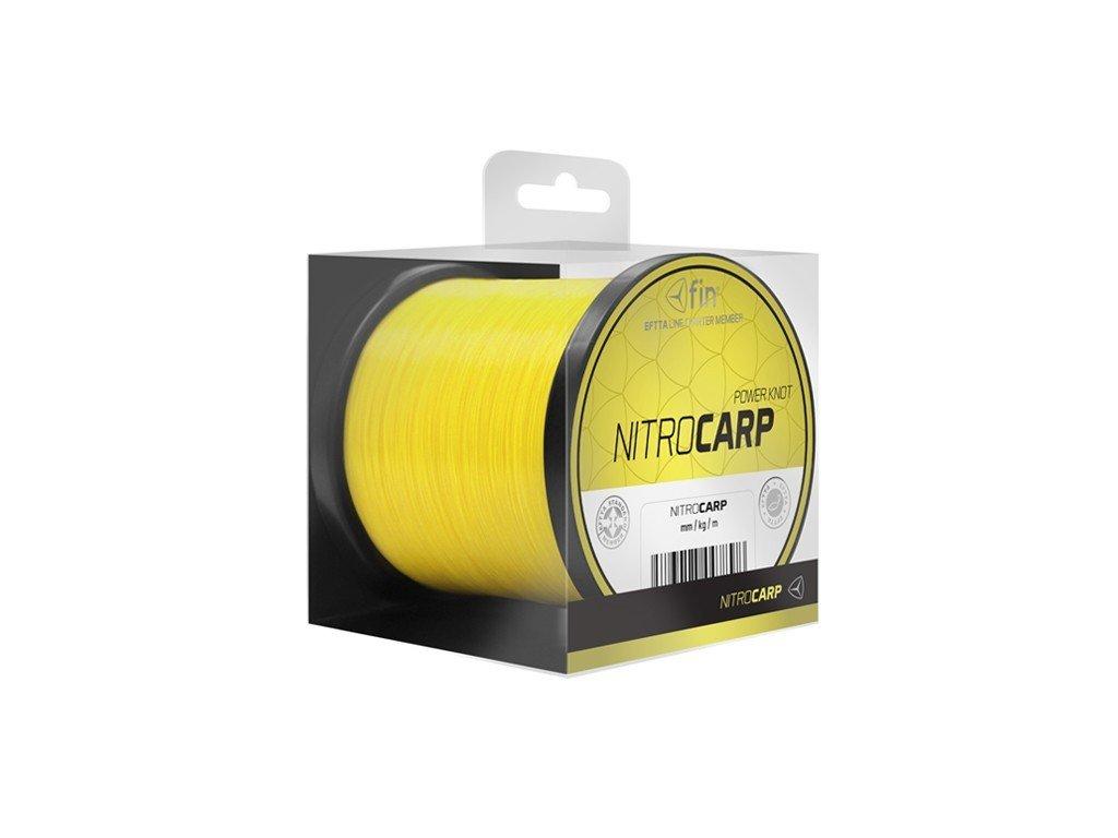 Vlasec Fin Nitro Carp sytá žlutá