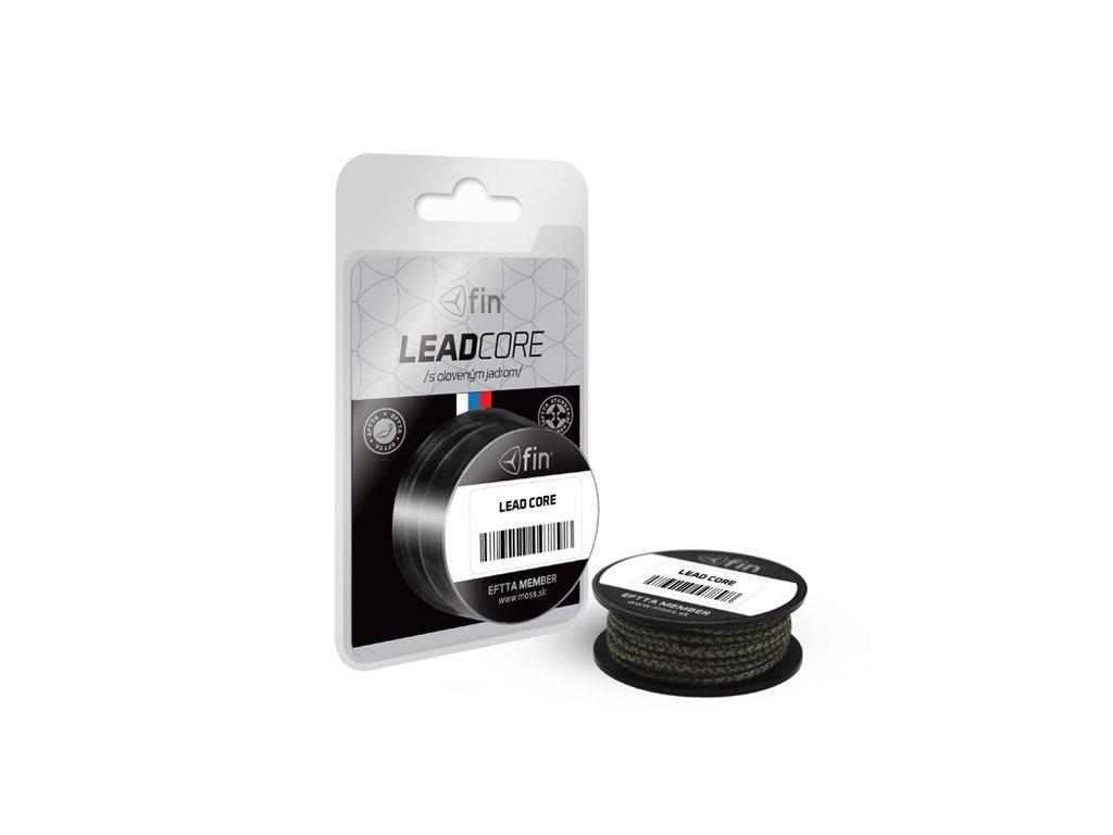 FIN LEAD Core 5m/camo 45lbs