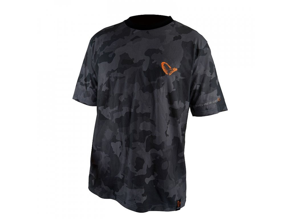 TRIČKO SAVAGE GEAR BLACK SAVAGE TEE