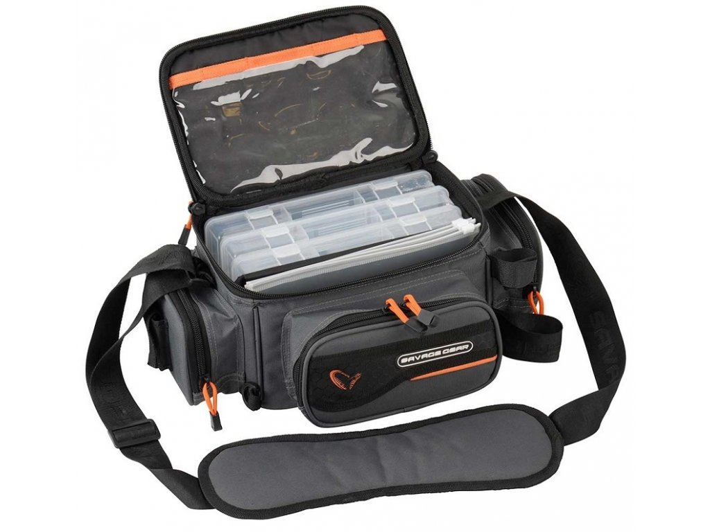 Savage Gear System Box Bag 3Boxes PP Bags S