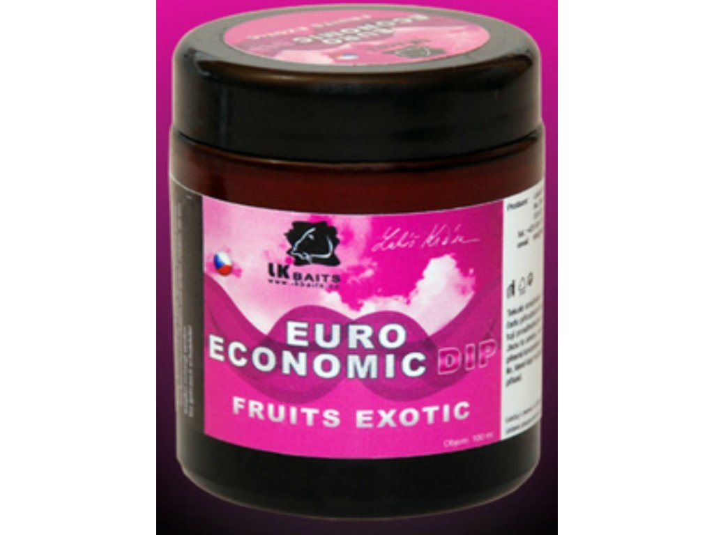 LK Baits Dip Euro Economic Fruits Exotic 100ml (Exotické ovoce)