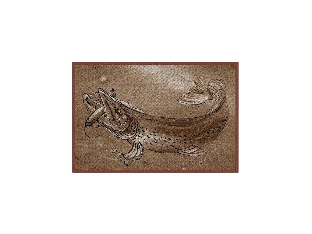 Rohožka Delphin Retro ŠTIKA