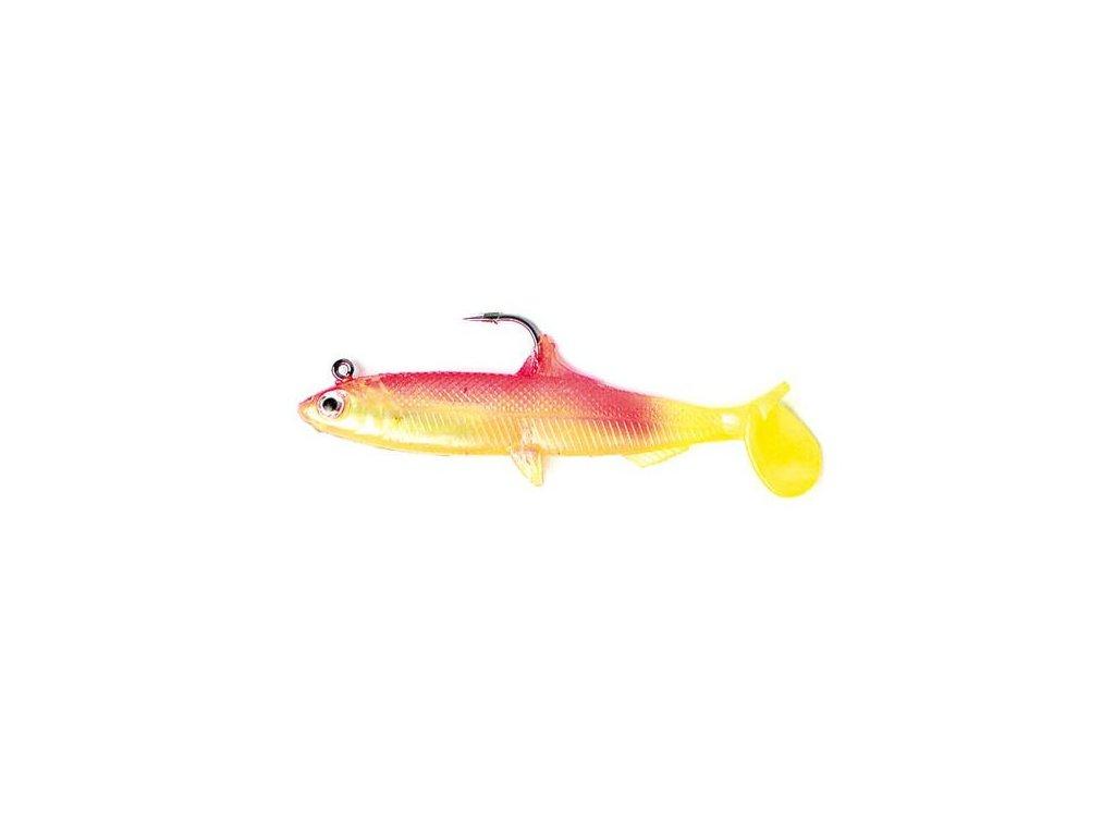 Nástražní rybička 04/100mm - 18g zlutá