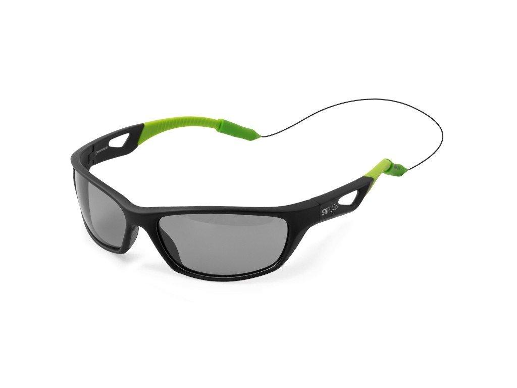 Polarizační brýle Delphin SG FLASH šedá skla
