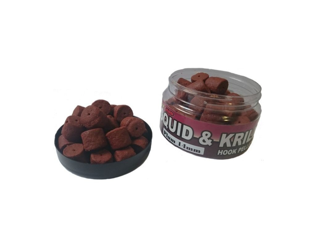 Squid & Krill Hook Pellets 14mm/120g