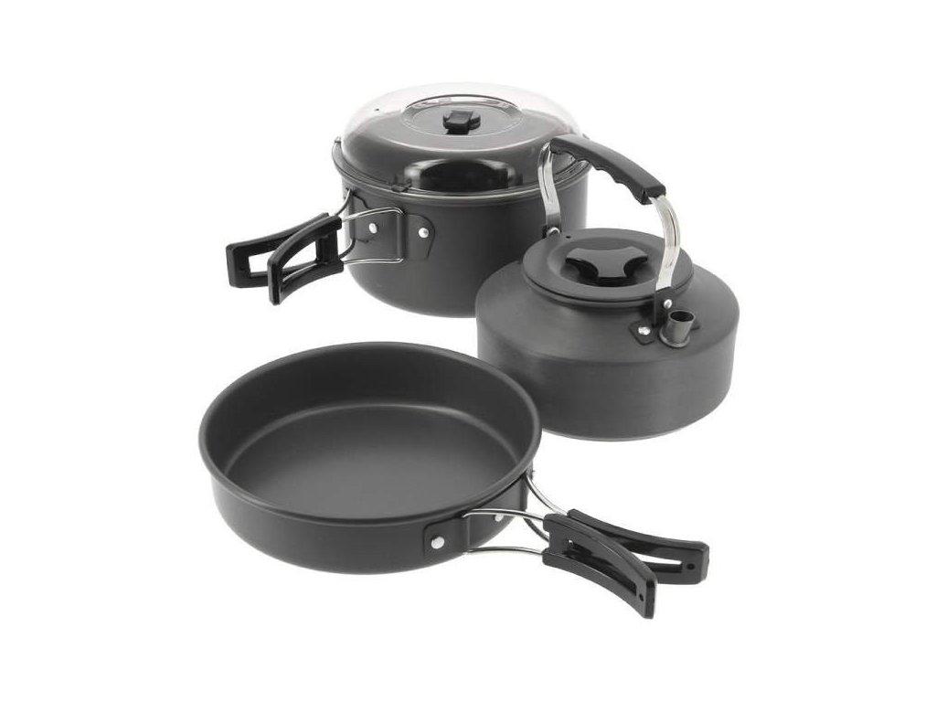 Sada Nádobí NGT Kettle Pot & Pan Set 3-díl
