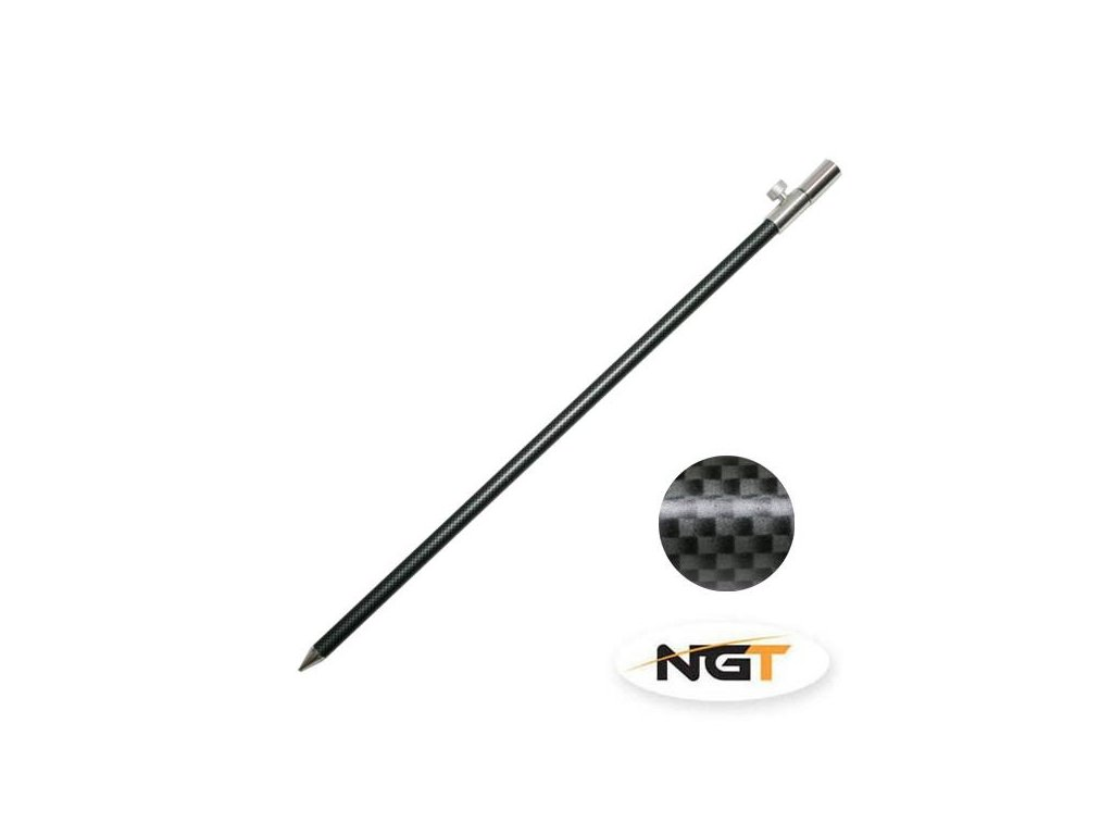 NGT Vidlička Bank Stick Carbon 50-90cm