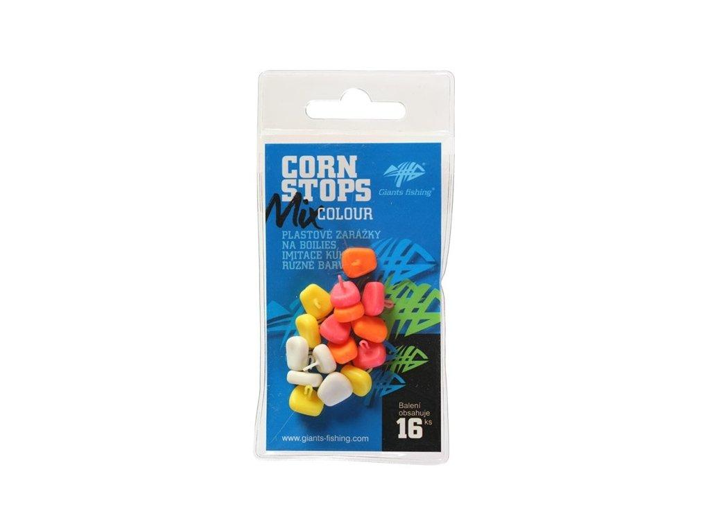 Zarážky Corn Stops Mix Colour (16ks)