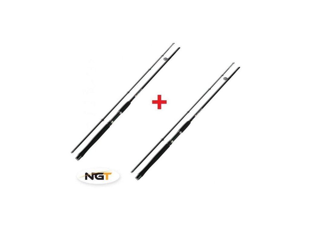 NGT Prut Carp Stalker Rod 8ft