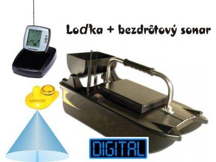 Akce Zavážecí loďka Sports + bezdrátový sonar