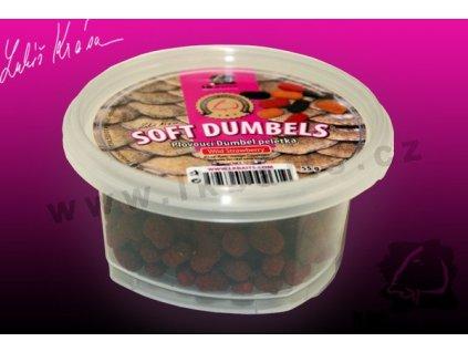 LK Baits Plovoucí Dumbel peletka Wild Strawberry 55 g