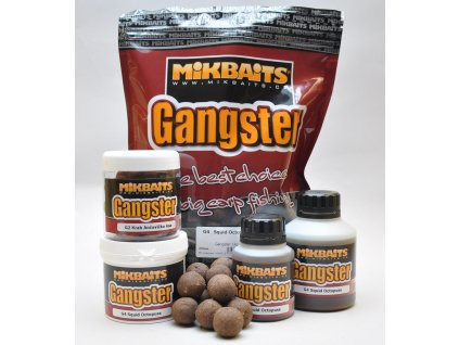 MIKBAITS Gangster 2 Boilie 20mm/2,5kg - Krab&Ančovička&Asa