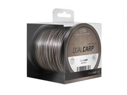 FIN vlasec Dual CARP - hnědo-černá