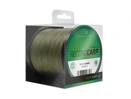 FIN Record CARP 600m - zelená kaprařská šnůra