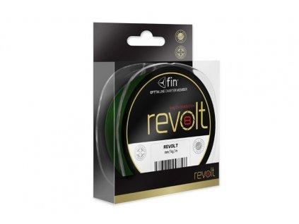 FIN šňůra Revolt 8X / zelená