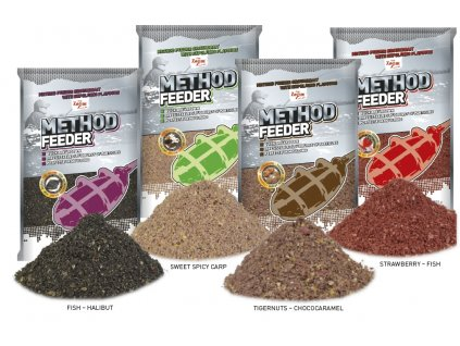Krmítková směs Method Feeder Groundbaits - 1 kg
