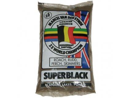 KRMÍTKOVÁ SMĚS MVDE SUPER BLACK 1KG
