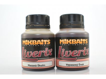 Mikbaits Dip LiveriX 125 ml - Vypasený Šnek